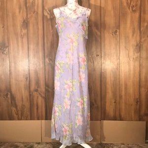 Long Pretty Flower Dress